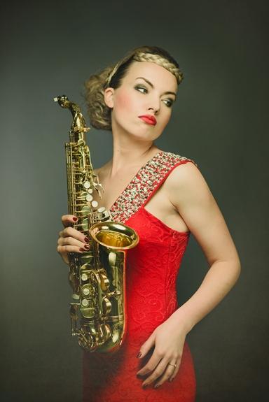 Saxophonist Electro