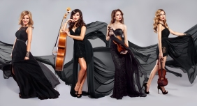 Quatuor Black dress